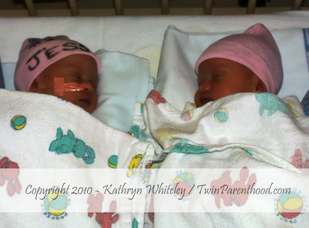 Infant twin girls